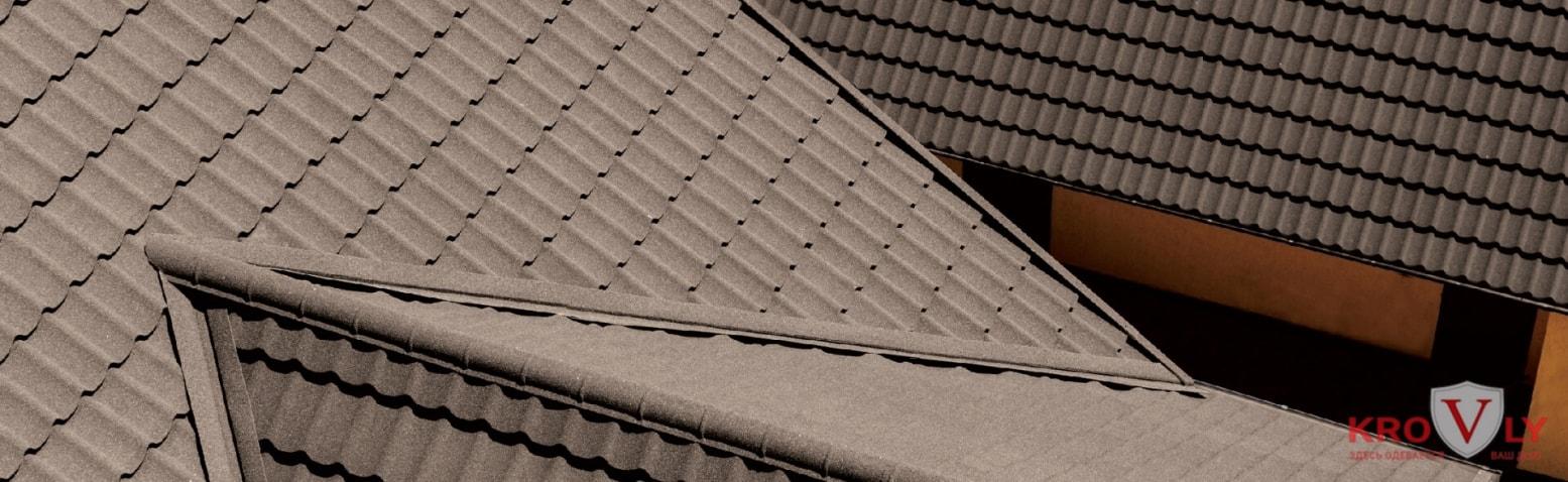 композитка на крыше
