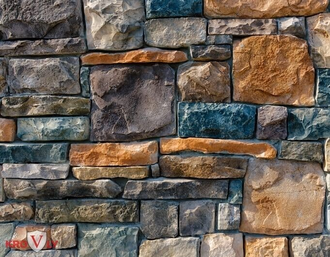 Декоративный камень для внутренней отделки