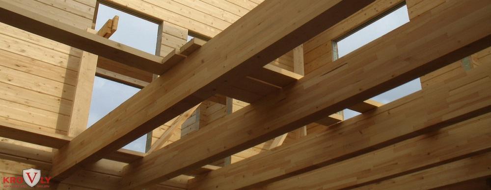 Перекрытие деревянное
