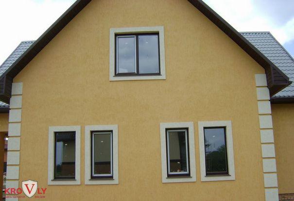 Фаса дома короед